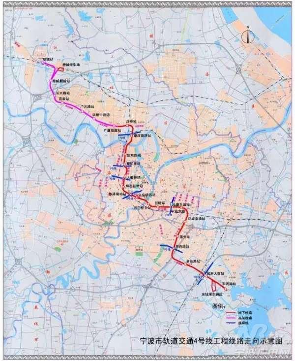 宁波市地铁5号线和 奉化 城铁将开工 获国家专项图片