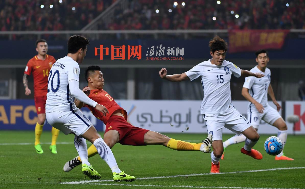 【組圖】厲害了我的國足!中國1:0勝南韓的那些瞬間