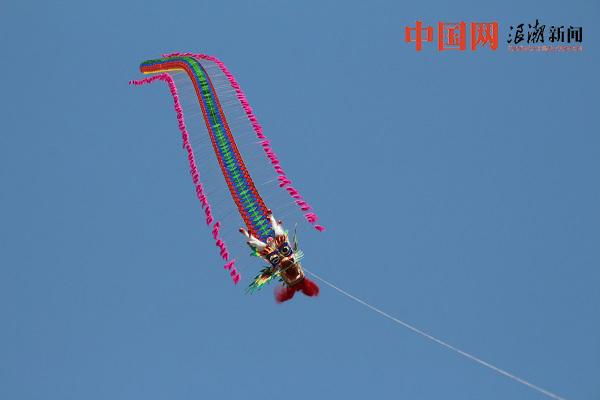 春風四月弄紙鳶 各式風箏爭奇鬥艷(組圖)