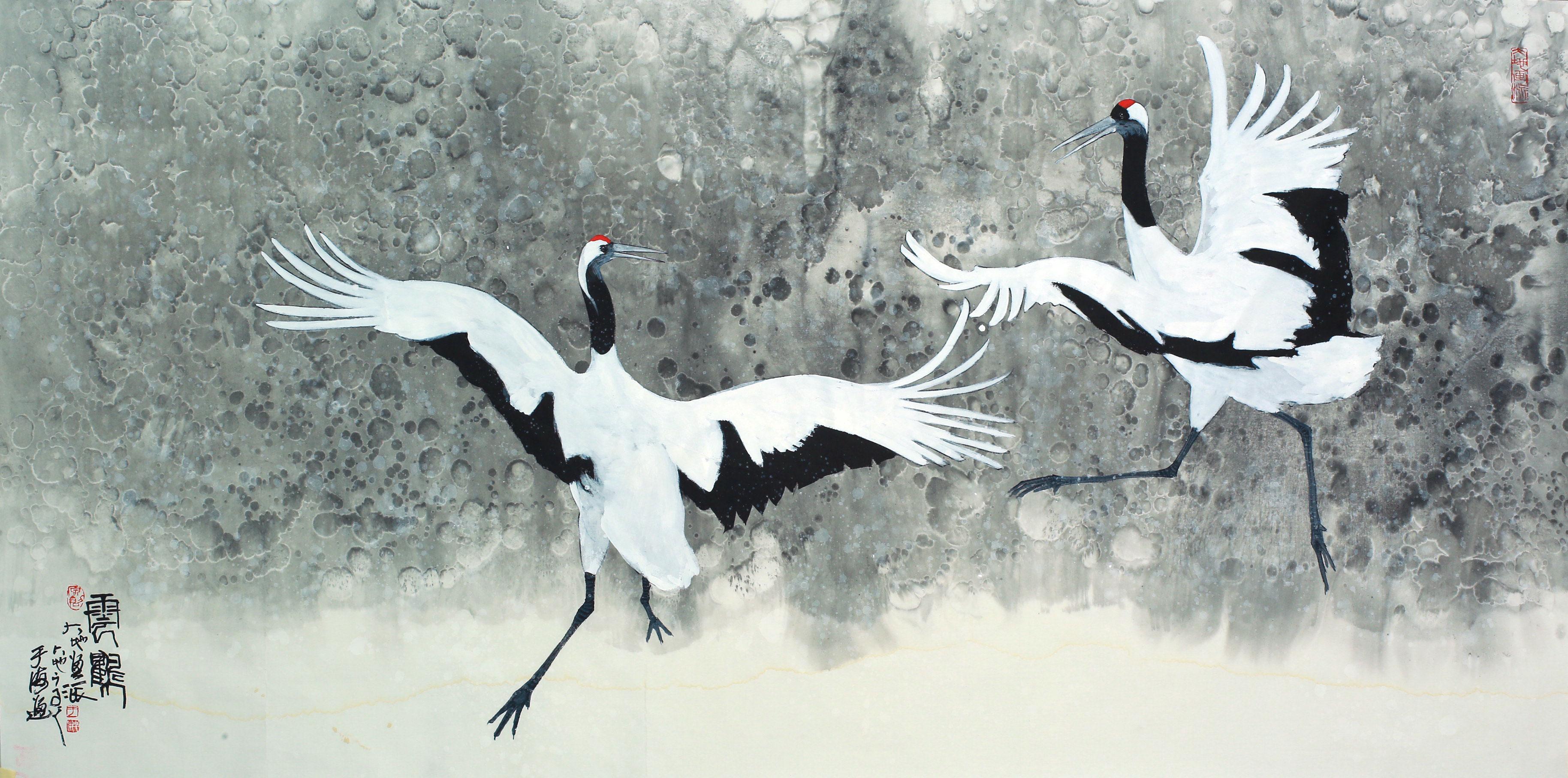 《云鹤》尺寸70X140cm画种:水墨境画.jpg