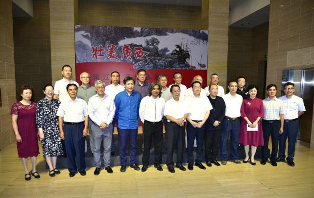 壮美广西——漓江画派作品展在中国美术馆隆重开幕