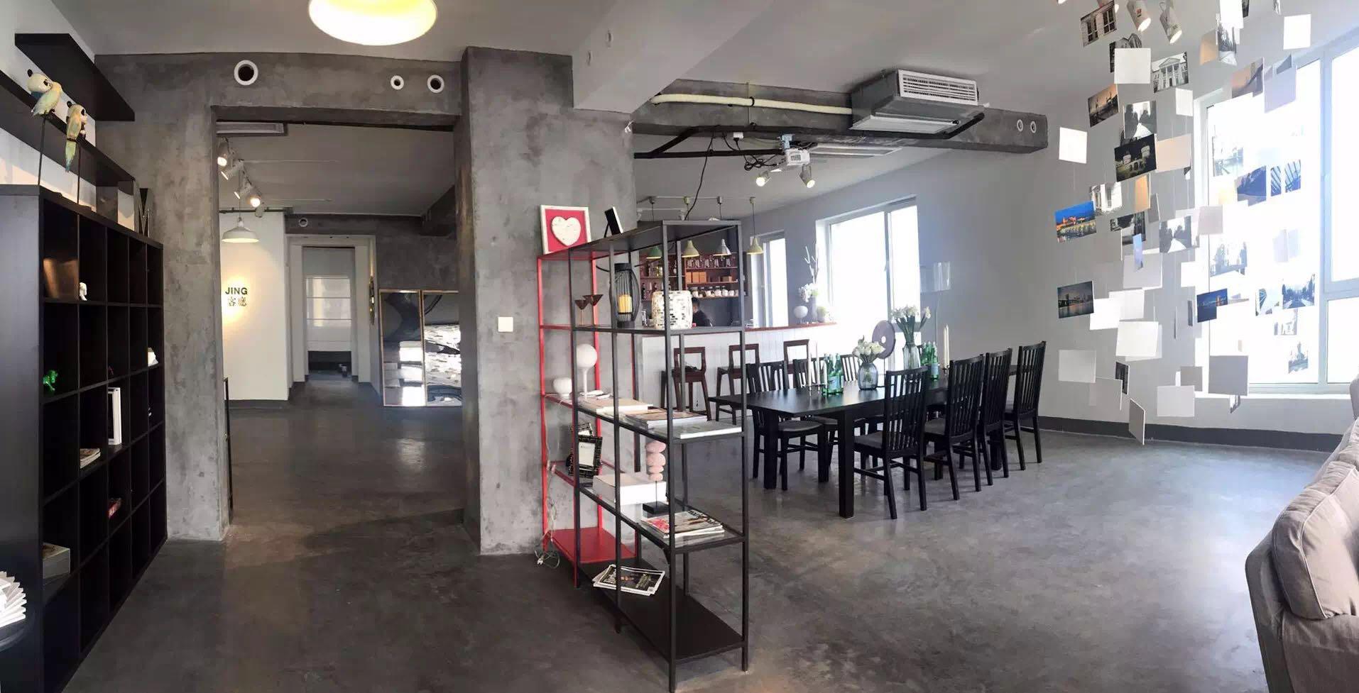 一个漂流咖啡馆|让毛坯清水房秒变风味独特的售楼处