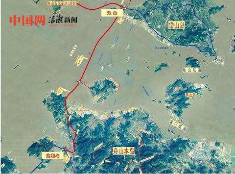 浙江岱山岛地图