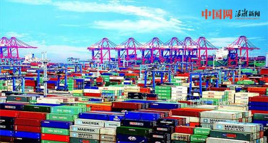 浙江2017年前7月外貿進出口14433.2億元人民幣 數額超部分國家