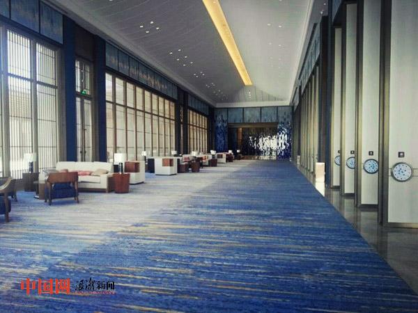 国际海岛旅游大会永久会址亮相:汉唐风格 通山达海