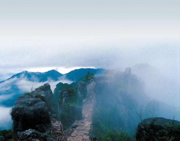 浙江风光:平阳南雁荡山