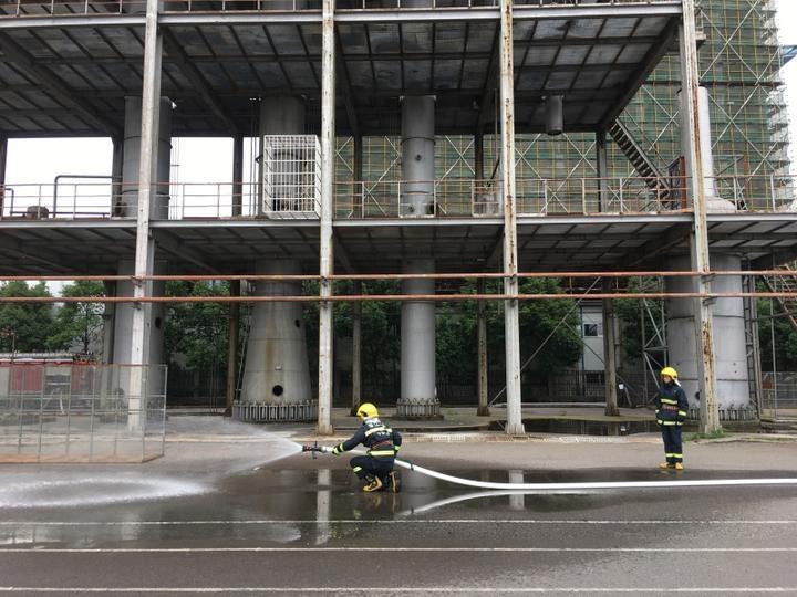 浙江省11个地市消防主官齐聚宁波 观摩宁波灭火经验