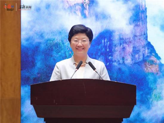 台州市委常委,宣传部长叶海燕致辞
