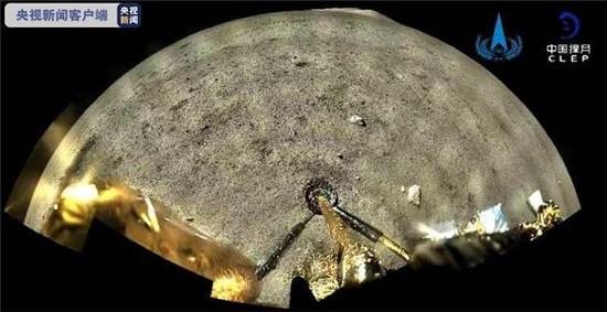 震撼!嫦娥五号拍下的月球高清大片