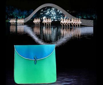 杭州G20峰会忆江南官方纪念礼丝绸手包